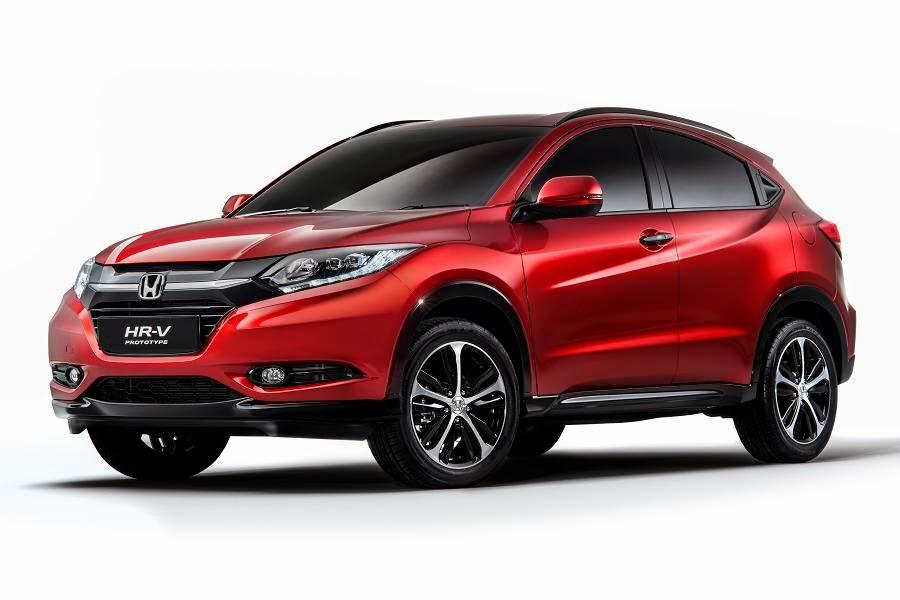 Honda HR-V Prototype (2015) Front Side