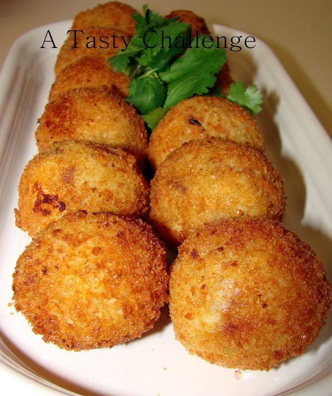 Chicken Stuffed Potato Balls
