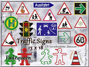 Traffic SIGNS neue Stickserie