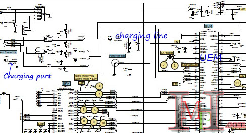 mobile cellular how you can solve charging faults, wiring diagram