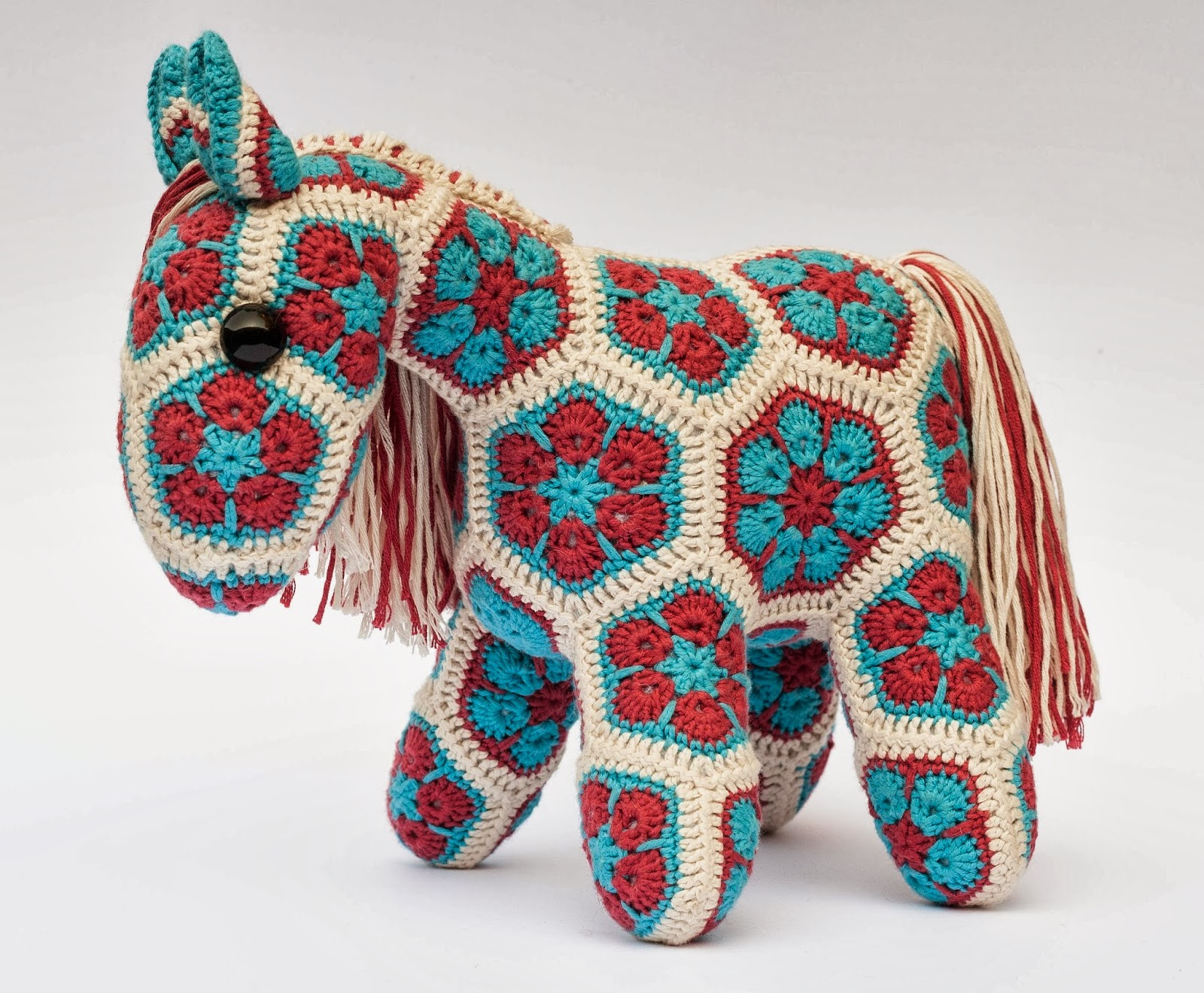 African Flower Pony Crochet Pattern : Woolbunnies: Finished Friday