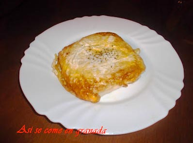 Emparedados de queso