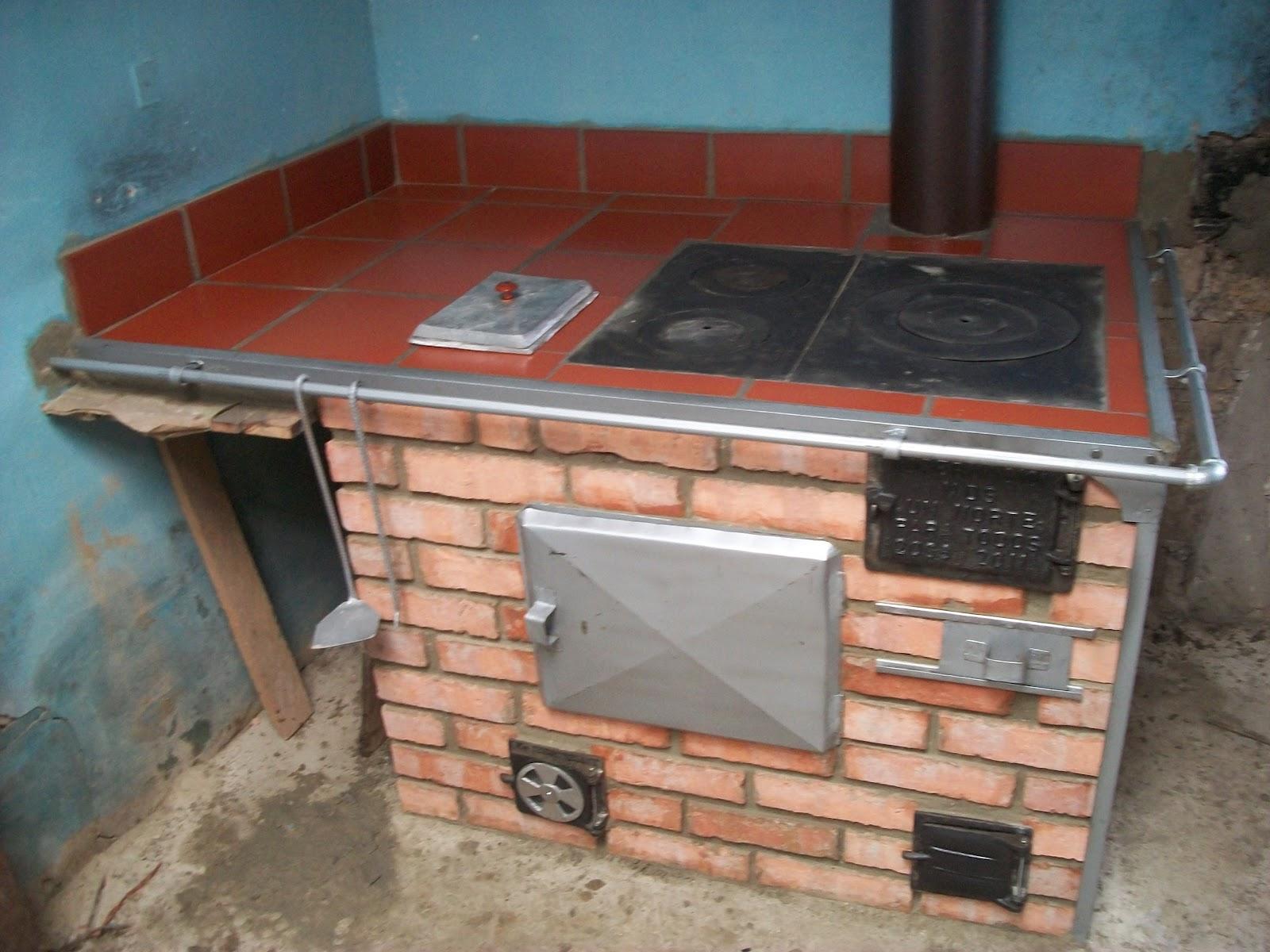 Estufas reguladoras de humo estufas reguladoras de humo para construir especialmente en zonas - Cocinas de carbon y lena ...