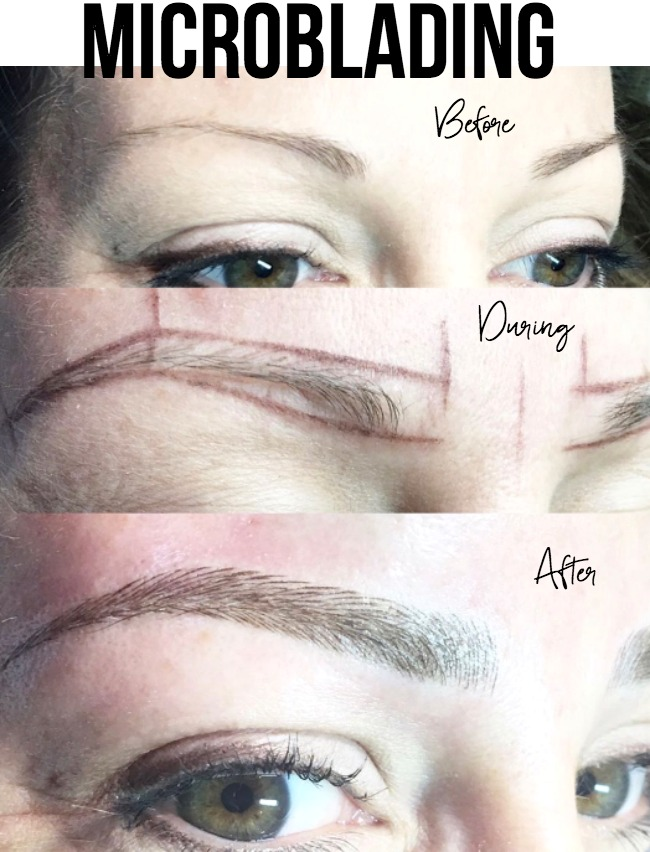 My Eyebrow Microblading Results Honey Were Home