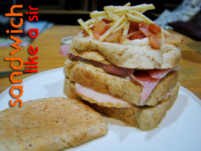 If you are to make a sandwich, might as well make it an epic one. This ...