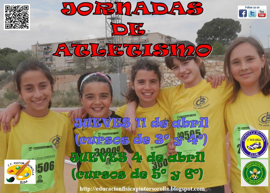 JORNADAS DE ATLETISMO