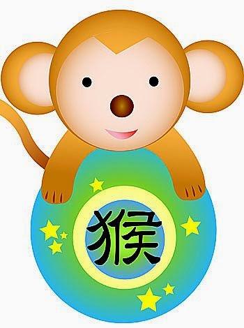 Zodiaco Chino para niños signo del Mono