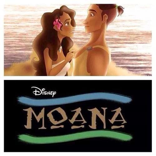 Gambar Moana Princess Film Disney Terbaru Putri Hawai Legenda Polinesia