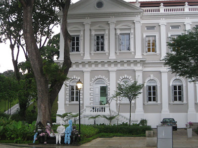 Take the MRT together with alight at Dhoby Ghaut Station Exit H5N1 or alight at Bras Basah Station Singapore attractions : Nat'l Museum of <a href=