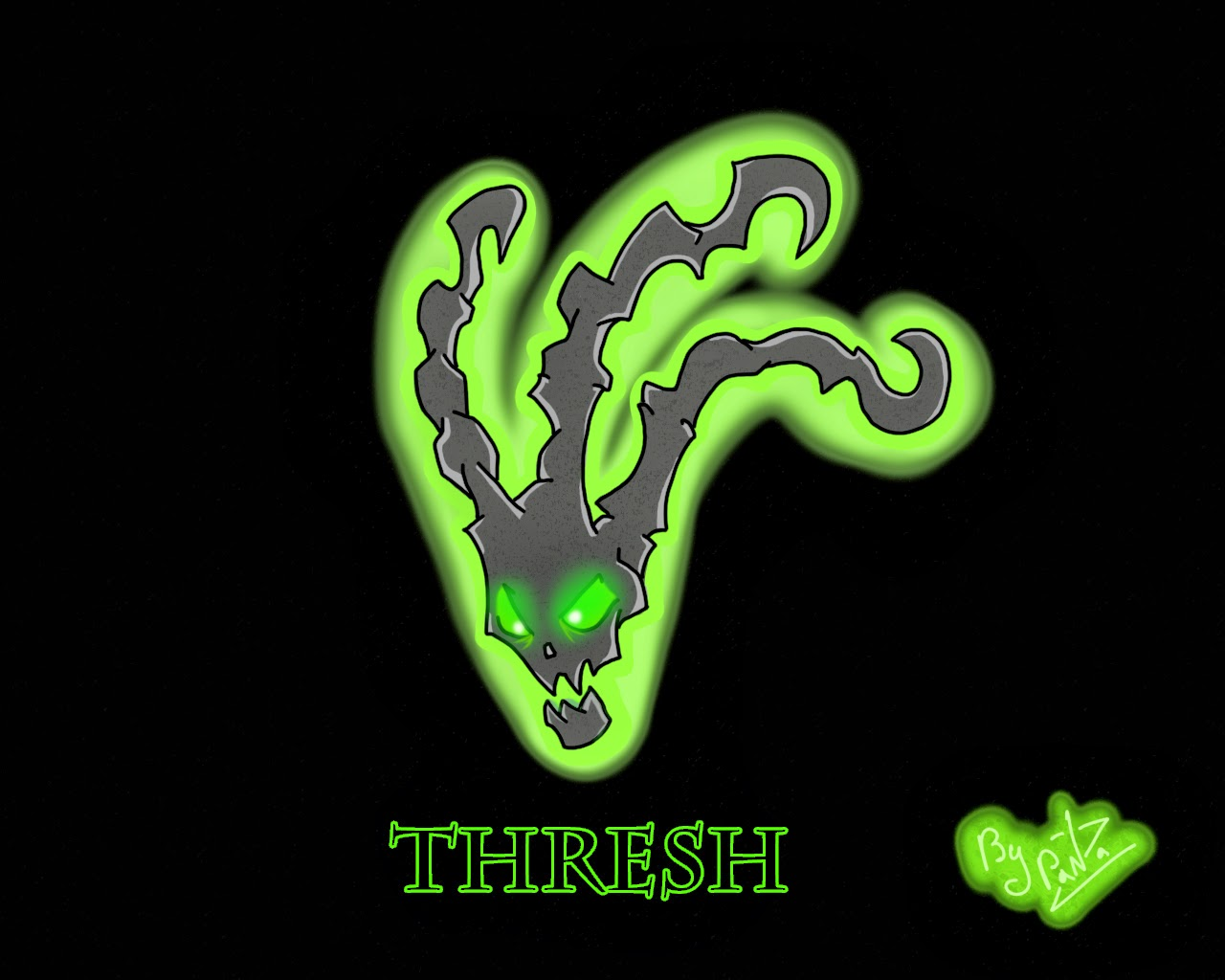thresh league of legends wallpaper, thresh desktop wallpaper