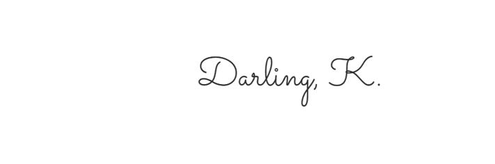 Darling, K.