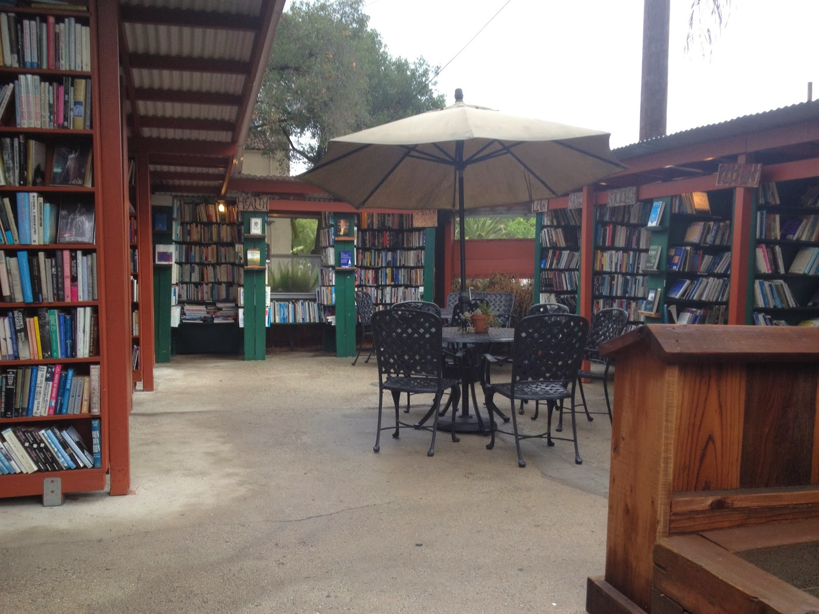 Bart's books, ojai, travel