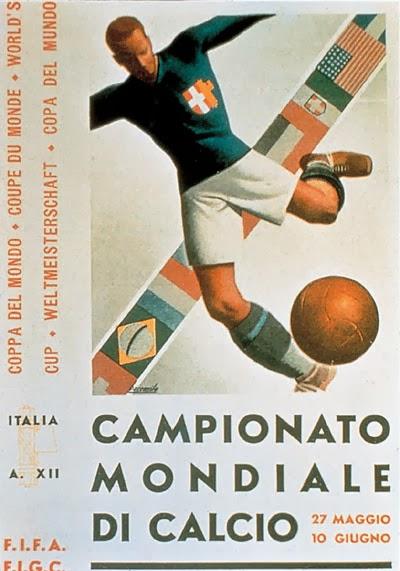 Cartel Mundial Italia 1934