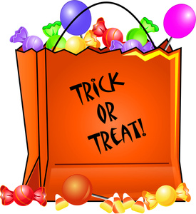 trick or treat bag halloween