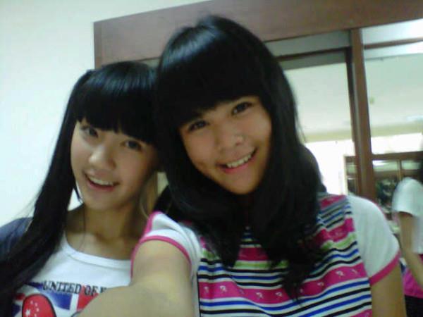 Cindy JKT48 dan Delima JKT48