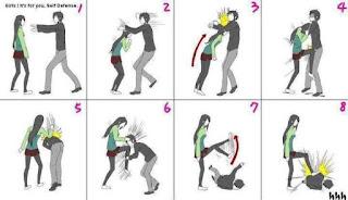 Tips Membela diri wanita
