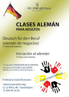 alemán, deutsch, clases, idiomas, negocios, formación, Guadalajara, Oropéndola