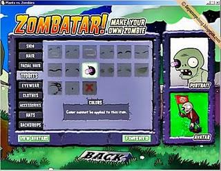 Zombatar Plants VS Zombie 2