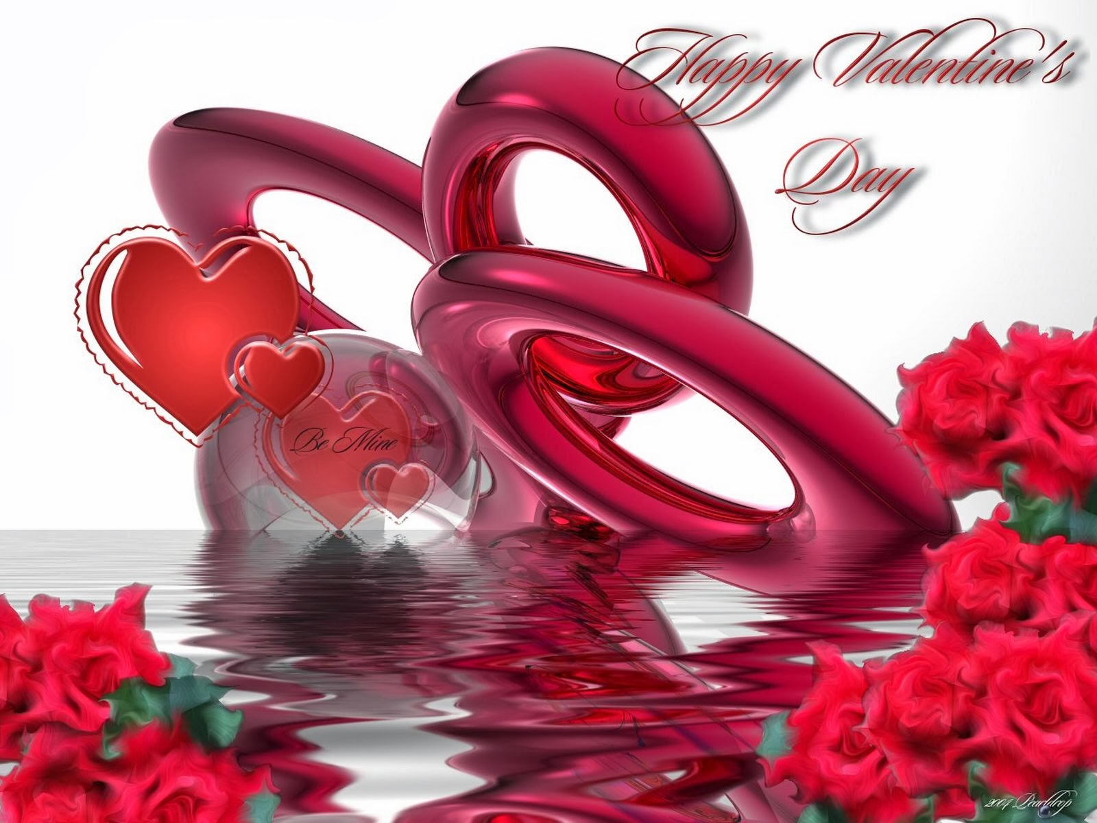 valentines day heart-shaped full hd wallpapers for 2014