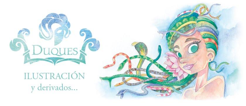 Duques - Ilustracion, Diseño & Escenografía
