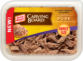 Oscar Mayer Carving Board pork