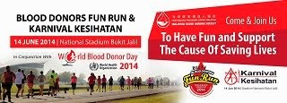 Blood Donor Day Run 2014