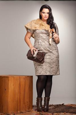 Moda para Gordinhas Inverno 2015