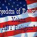 """Tự Do Tôn Giáo Trên Thế Giới: Tình Trạng """"Báo Động"""""""