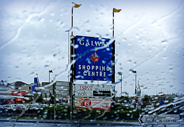 Galway Shopping center sign
