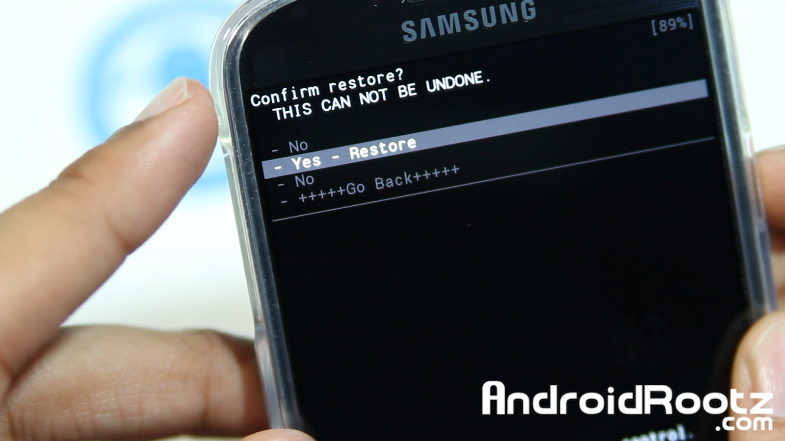 Phone Complete Phone Backup Android how to do a nandroid backup on galaxy s4 and restore rom select yes wait for about 10 15 minutes the restoration process complete