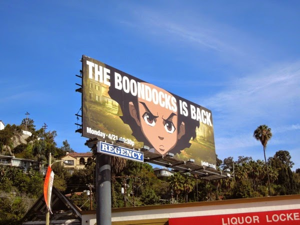 Boondocks final season 4 adult swim billboard