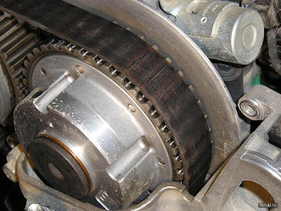 Замена ремня ГРМ в двигателе 1.6 16V Duratec Ti-VCT Ford Focus.