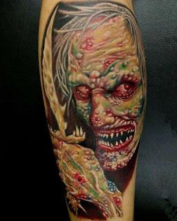 Zombie Tattoo Ideas - Zombie Tattoo Design Photo Gallery