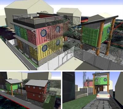 Merancang Desain Rumah Kontainer Impian untuk Anda