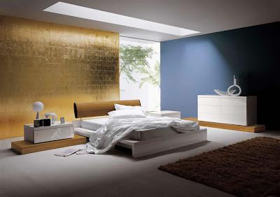 paredes del dormitorio