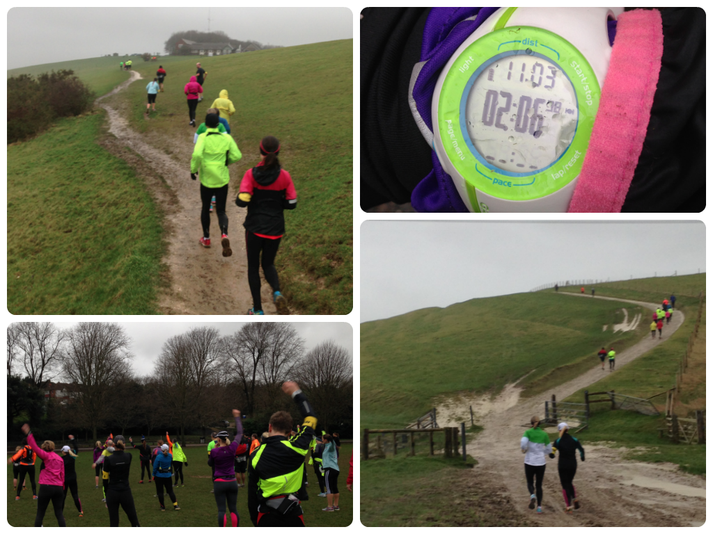 RunBrighton training run - South Downs Devil's Dyke marathon training brighton