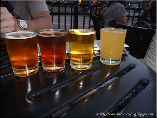 a sampling of Tampa Bay Brewing Company beers