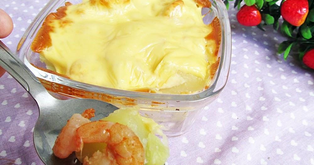 Batata gratinada com camarão - Amando Cozinhar - Receitas, dicas ...