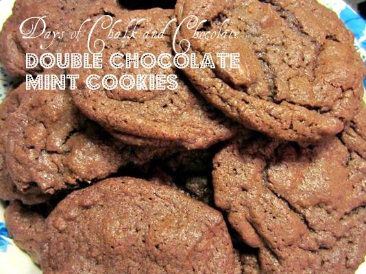 christmas cookies chocolate chip cookies