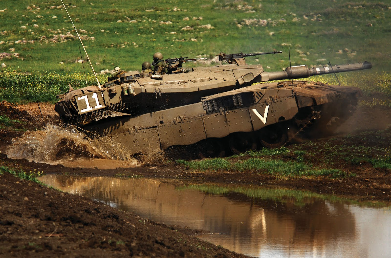Israeli Merkava Tank - Asian Defence News Today