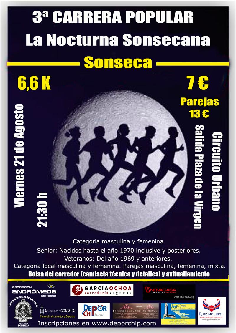 3ª Carrera Popular La Nocturna Sonsecana
