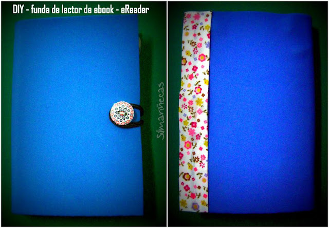 diy funda de lector de ebook - eReader