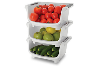 Pepperfry : Buy Set of 3 Jb'S Polypropylene Kitchen Stack At worth Rs. 795 at Rs. 300 after discount – BuyToEarn