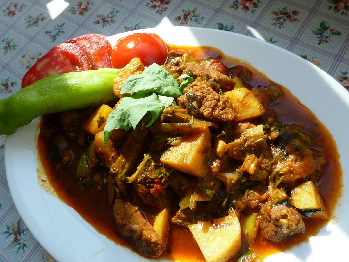 Бозбаш - Национальное Блюдо Армении