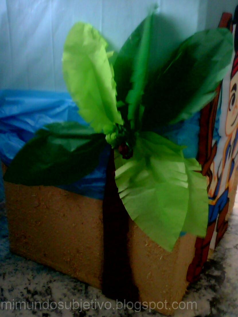 Como hacer una palmera con foami imagui - Como hacer una palmera artificial ...