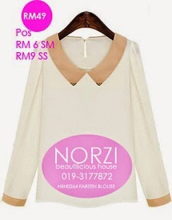 NBH0264 FAREEN BLOUSE