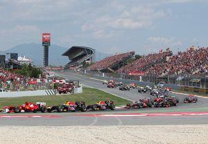 Formula 1, F1, Gran premio de españa, gran premio de España de F1, circuito, circuito F1, Montmeló, circuito de Montmeló