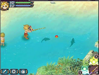 Fishing in Rune Factory 3