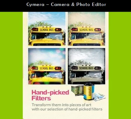 Cymera – Aplikasi Android Camera & Photo Editor
