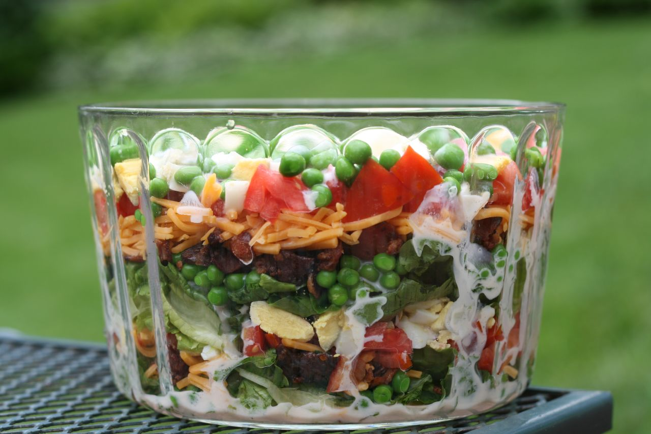 The Nummy Little Blog: Layered Salad